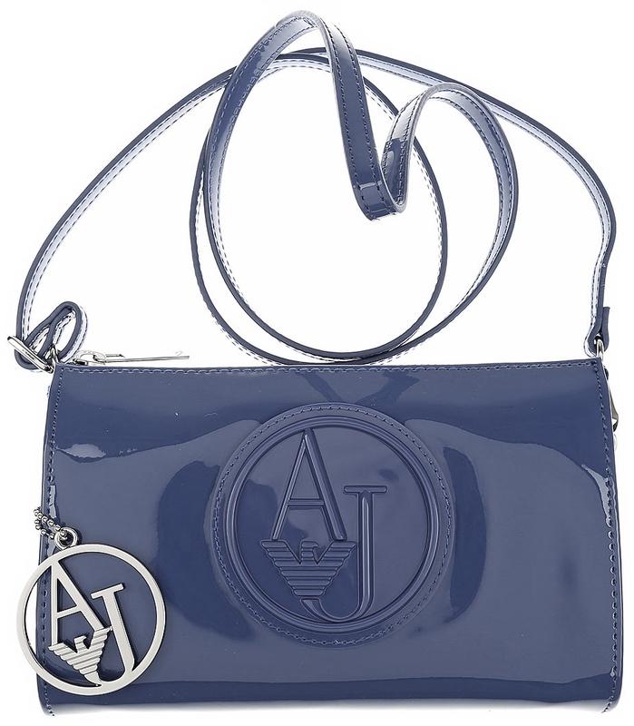 6d8c1e4232 Kabelka Armani Jeans Crossbody Party kabelka 05V82 černá - modrá (temně  modrá) - Hanymany.cz