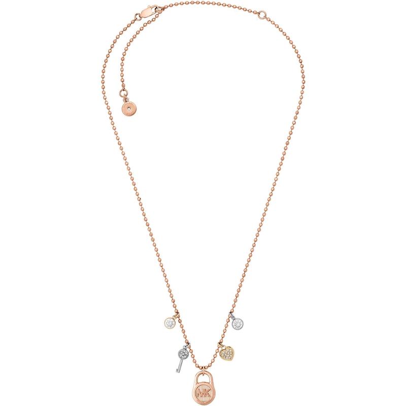 Značky - Náhrdelník Michael Kors Jewellery růžovozlatý