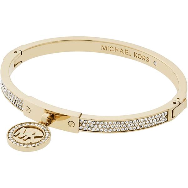 Značky - Náramek Michael Kors Logo zlatý