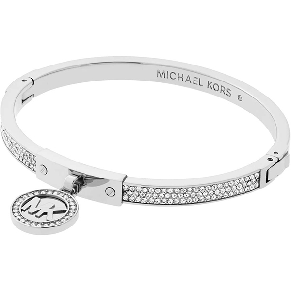 Značky - Náramek Michael Kors Logo stříbrný