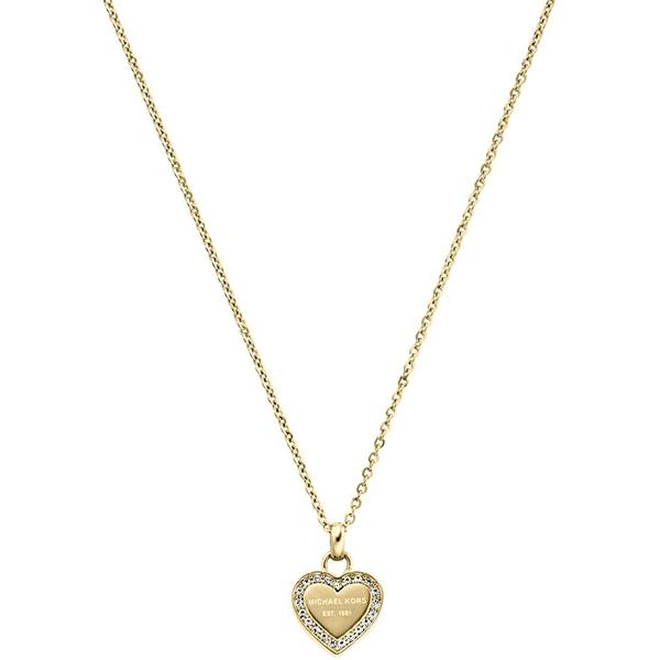 Značky - Náhrdelník Michael Kors Heart zlatý