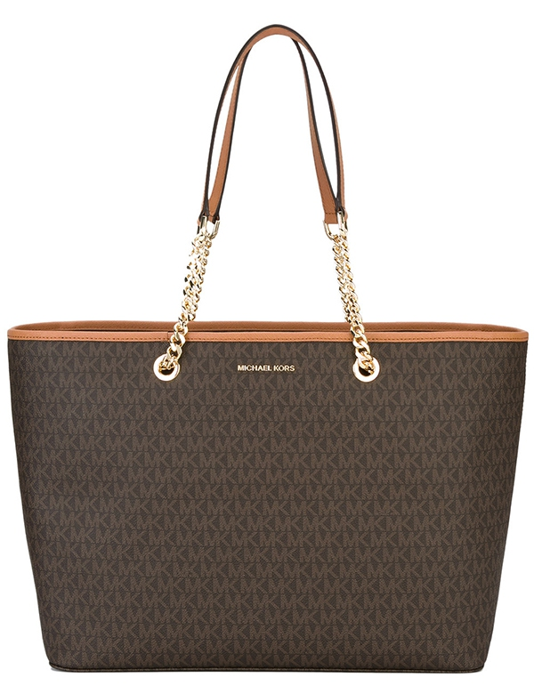Kabelka Michael Kors Jet Set Travel Medium Saffiano Leather Tote ... a35125c32bd