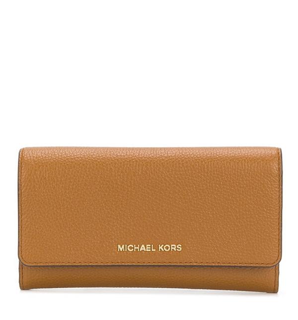 Značky - Peněženka Michael Kors Mercer Tri-Fold Leather Wallet acorn