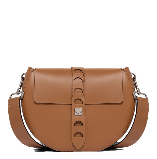 Značky - Kožená kabelka Coccinelle Carousel Calfskin With Single Shoulder Strap cuir