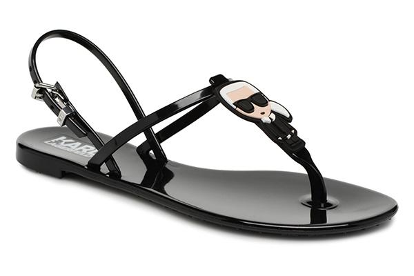 Značky - Sandálky Karl Lagerfeld Jelly Karl Ikonic Sling černé
