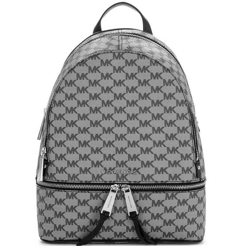 Značky - Kabelka Michael Kors Rhea Zip Logo Backpack černá