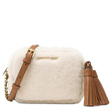 Kabelka Michael Kors Jet Set Travel Small Chain Crossbody Fur natural/walnut