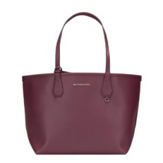 Kabelka Michael Candy Large Reversible Tote plum/bloosom
