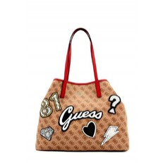 Kabelka Guess Vikky Shopper Logo