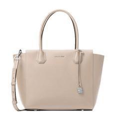 Kabelka Michael Kors Mercer Large Satchel cement