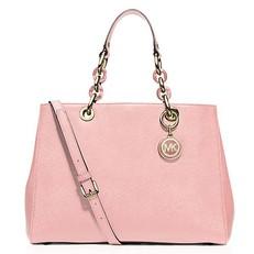 Kabelka Michael Kors Cynthia Medium Satchel soft pink