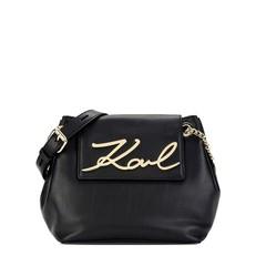 Kabelka Karl Lagerfeld K/Signature Soft Drawstring