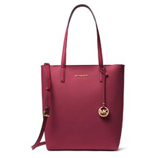 Kabelka Michael Kors Hayley Large Convertible Tote mulberry