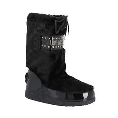 Obuv Love Moschino Moon Boots černé