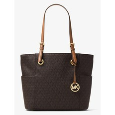Kabelka Michael Kors Jet Set Travel Small Logo Tote brown