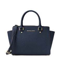 Kabelka Michael Kors Selma Saffiano Leather Medium Satchel admiral