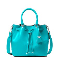 Kabelka Michael Kors Blakely Leather Bucket turquoise