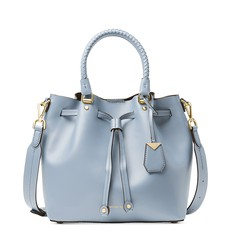 Kabelka Michael Kors Blakely Leather Bucket pale blue