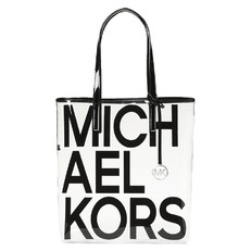 Kabelka Michael Kors The Michael Large Graphic Logo Print Clear Tote