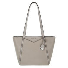 Kabelka Michael Kors Whitney Small Pebbled Leather pearl grey