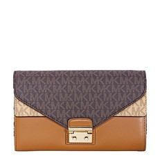 Kabelka Michael Kors Sloan Logo and Leather Chain Wallet