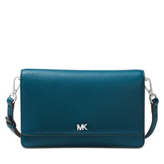 Kabelka Michael Kors Pebbled Leather Convertible Crossbody teal