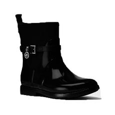 Obuv Michael Kors kotníkové holinky Charm Rain Boot černé