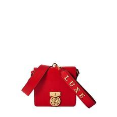 Kožená kabelka Guess Alexis Leather Crossbody