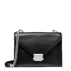 Kabelka Michael Kors Whitney Large Leather Convertible Shoulder černá
