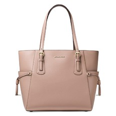 Kabelka Michael Kors Voyager Crossgrain Leather Tote fawn