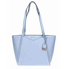 Kabelka Michael Kors Whitney Small Pebbled Leather pale blue