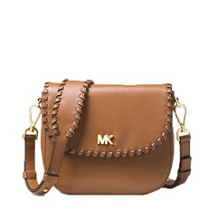 Kabelka Michael Kors Whipstitched Leather Saddle acorn 0fd26ae0e1c