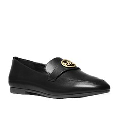 Boty Michael Kors Heather Leather Loafer černé