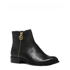 Boty Michael Kors Jaycie Leather Ankle Boot černé