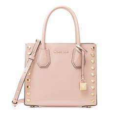 Kabelka Michael Kors Mercer Medium Studded Crossbody soft pink