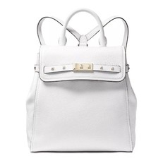 Kabelka batoh Michael Kors Addison Backpack optic white