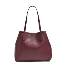 Kabelka Guess Vikky Shopper burgundy