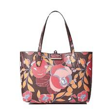 Kabelka Guess Bobbi Reversible Shopper hnědá/multicolor