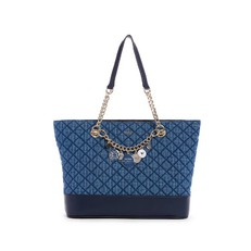 Kabelka Guess Victoria Quilted Shopper