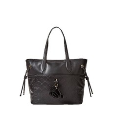 Kožená kabelka Guess Cleo Quilted Leather Shopper