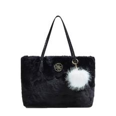 Kabelka Guess Lavi Faux Fur Shopper
