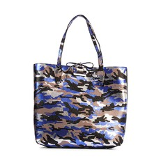 Kabelka Guess Bobbi Reversible Shopper camouflage/černá