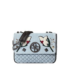 Kabelka Guess Ryann Lux Denim Crossbody