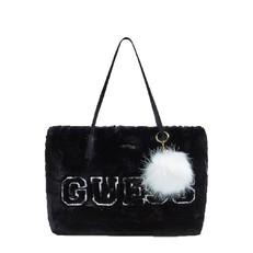 Kabelka Guess Elka Faux Fur Shopper