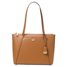 Kabelka Michael Kors Maddie Medium Leather Tote acorn
