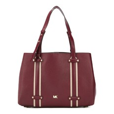 Kabelka Michael Kors Griffin Large Tote oxblood