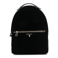 Batoh Michael Kors Kelsey Large Velvet Backpack černá