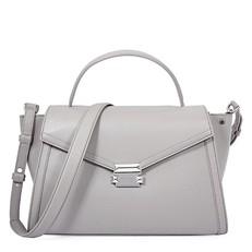 Kabelka Michael Kors Whitney Large Leather Satchel pearl grey