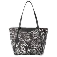 Kabelka Michael Kors Whitney Large Graffiti Leather Tote
