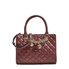 Kabelka Guess Victoria Quilted Satchel